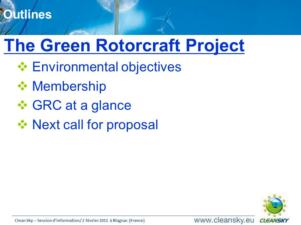 The Green Rotorcraft Project
