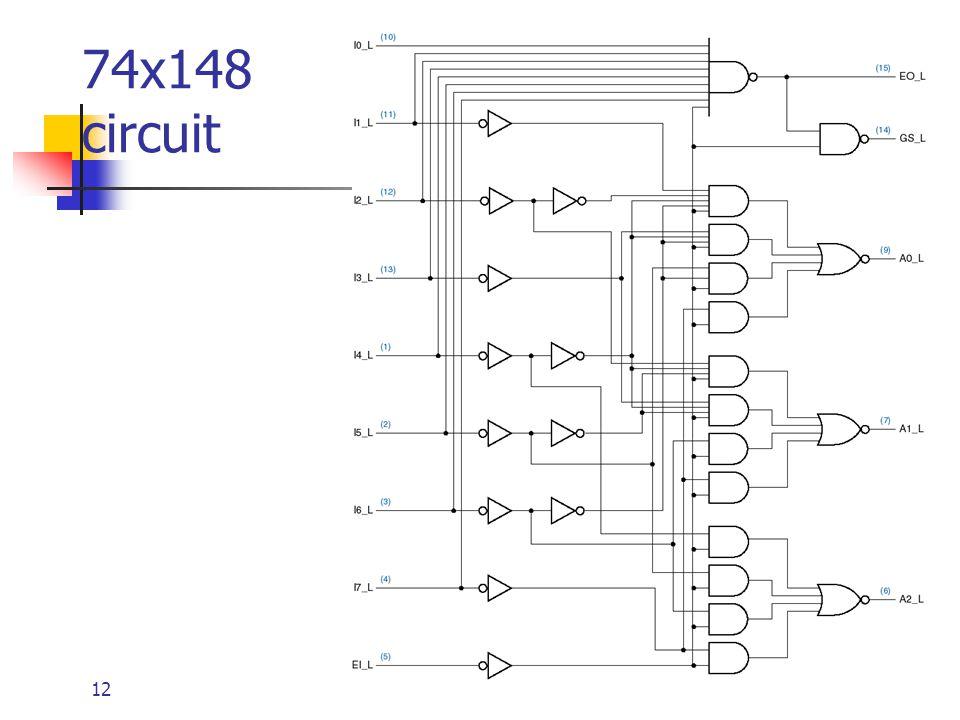 74x148 circuit