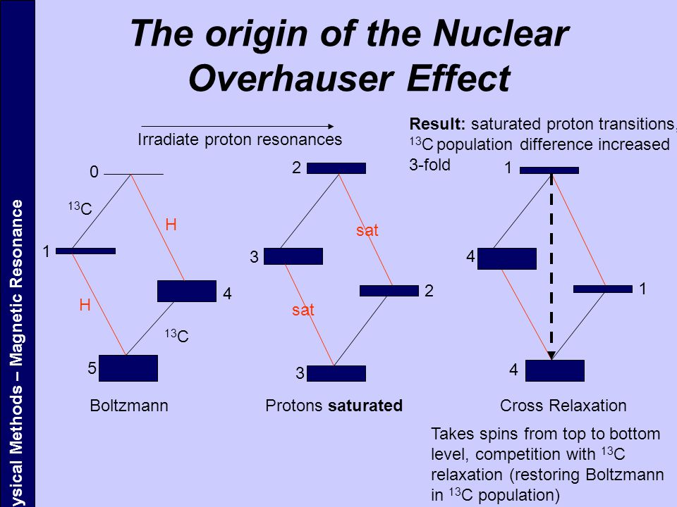 The origin of the Nuclear Overhauser Effect