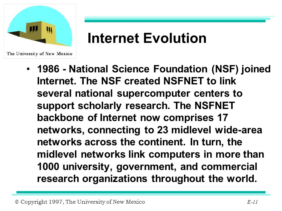 Internet Evolution