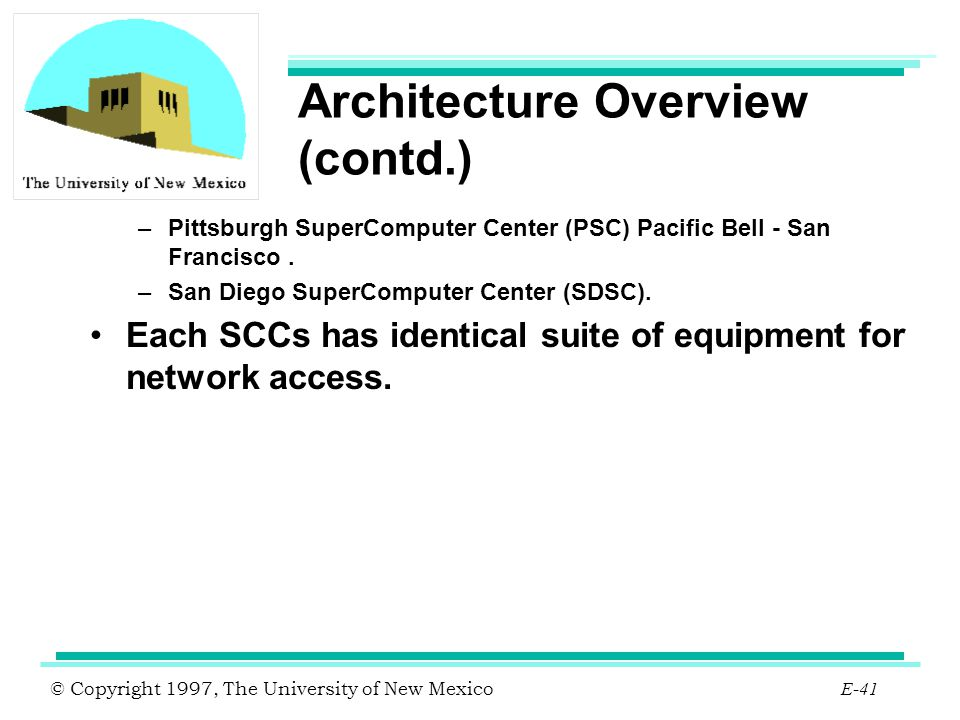 Architecture Overview (contd.)