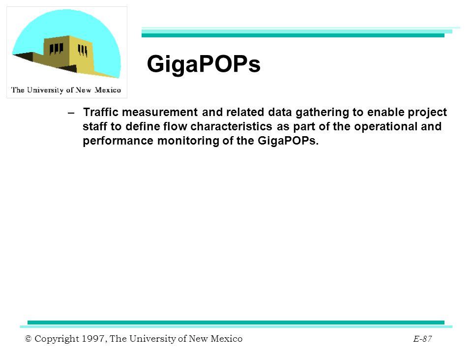 GigaPOPs