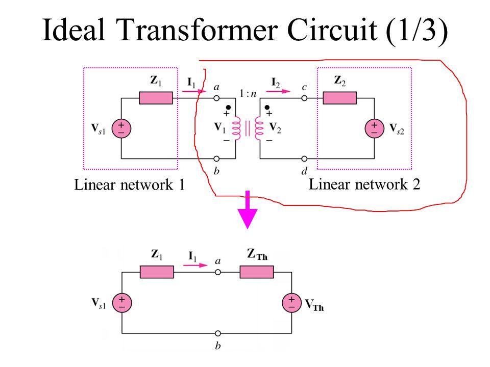 Ideal Transformer Circuit (1/3)