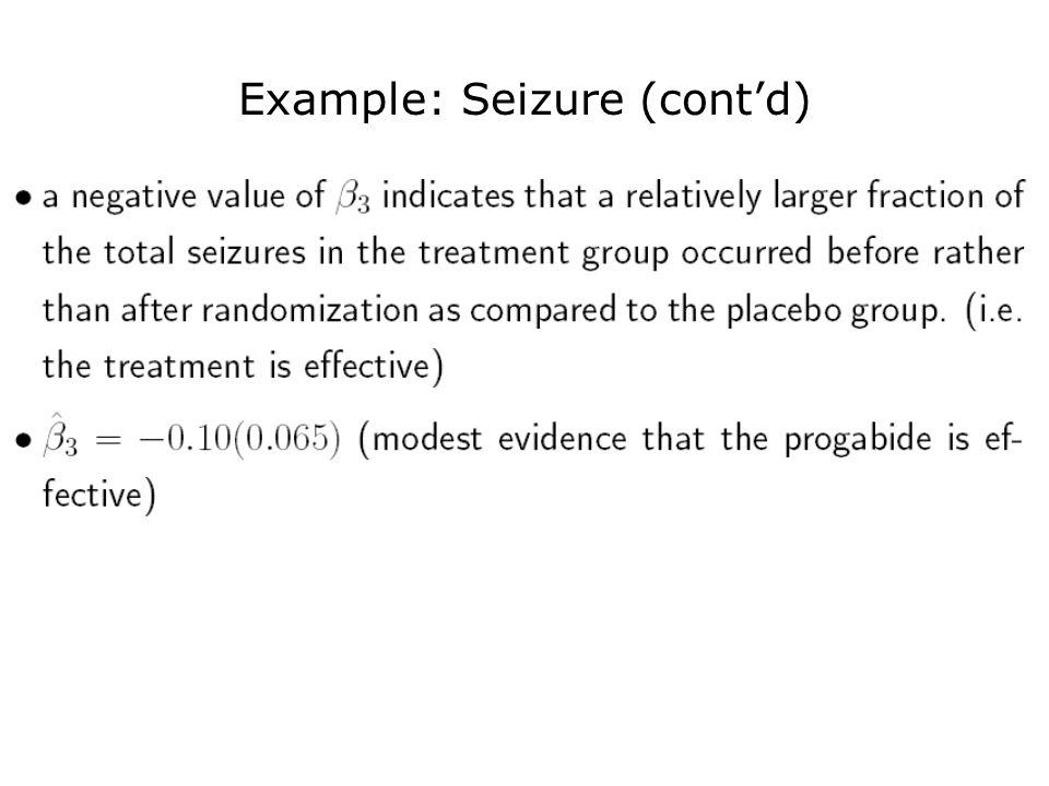 Example: Seizure (cont'd)