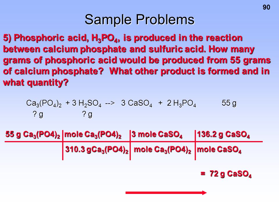 Sample Problems