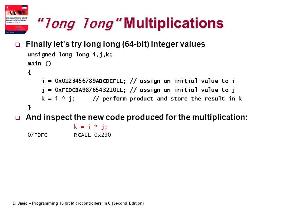 long long Multiplications