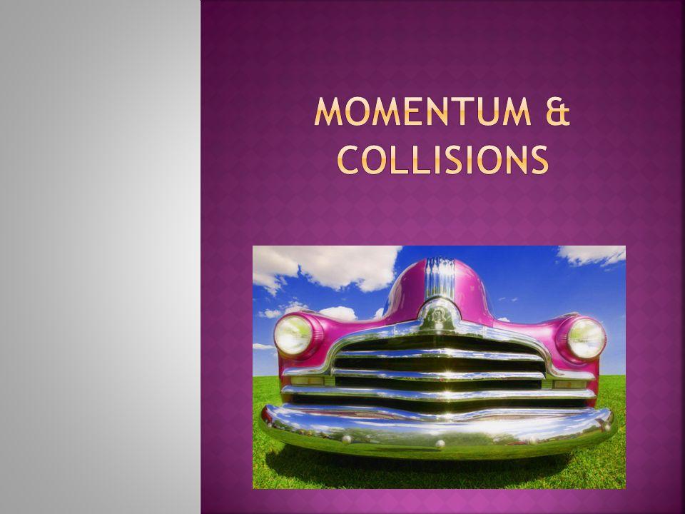 MOMENTUM & COLLISIONS