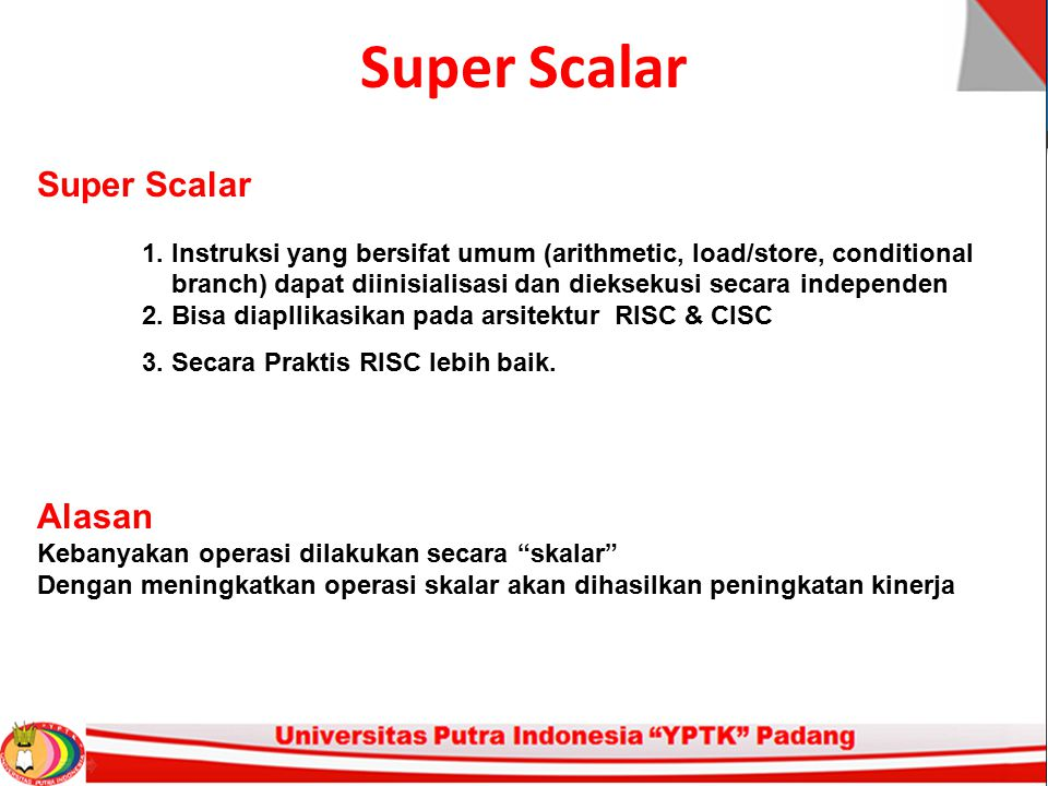 Super Scalar Super Scalar Alasan