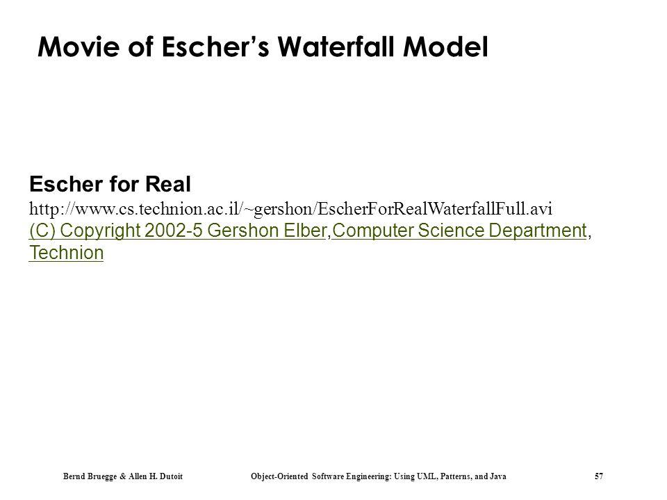 Movie of Escher's Waterfall Model