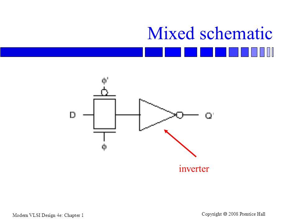Mixed schematic inverter
