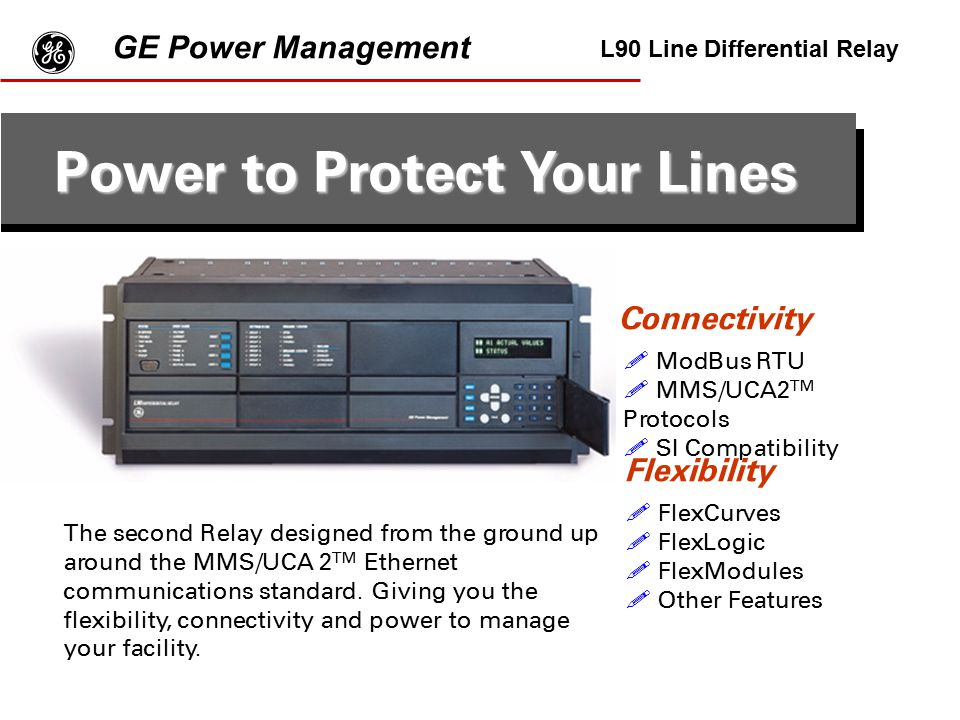 Power to Protect Your Lines