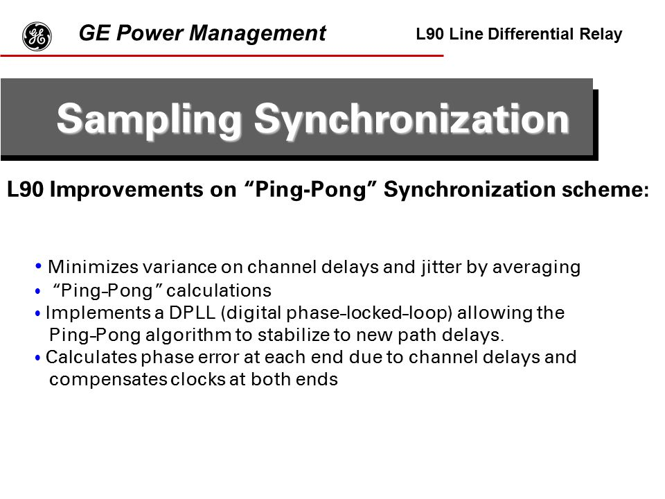 Sampling Synchronization