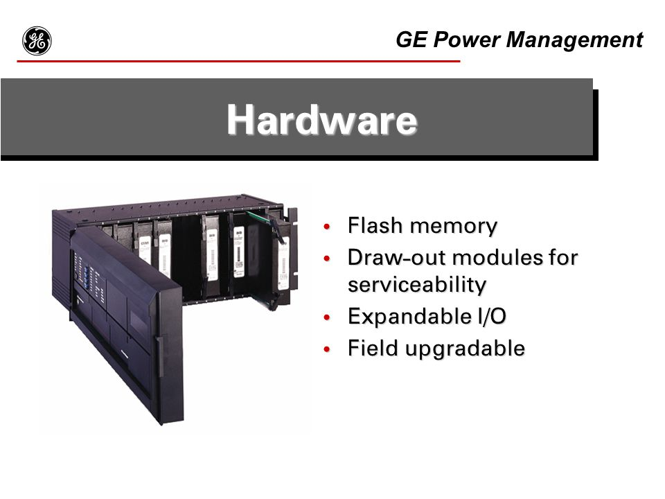 g Hardware GE Power Management Flash memory