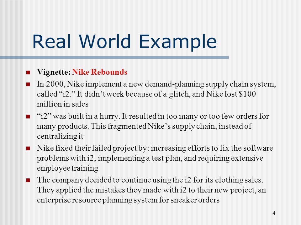Real World Example Vignette: Nike Rebounds