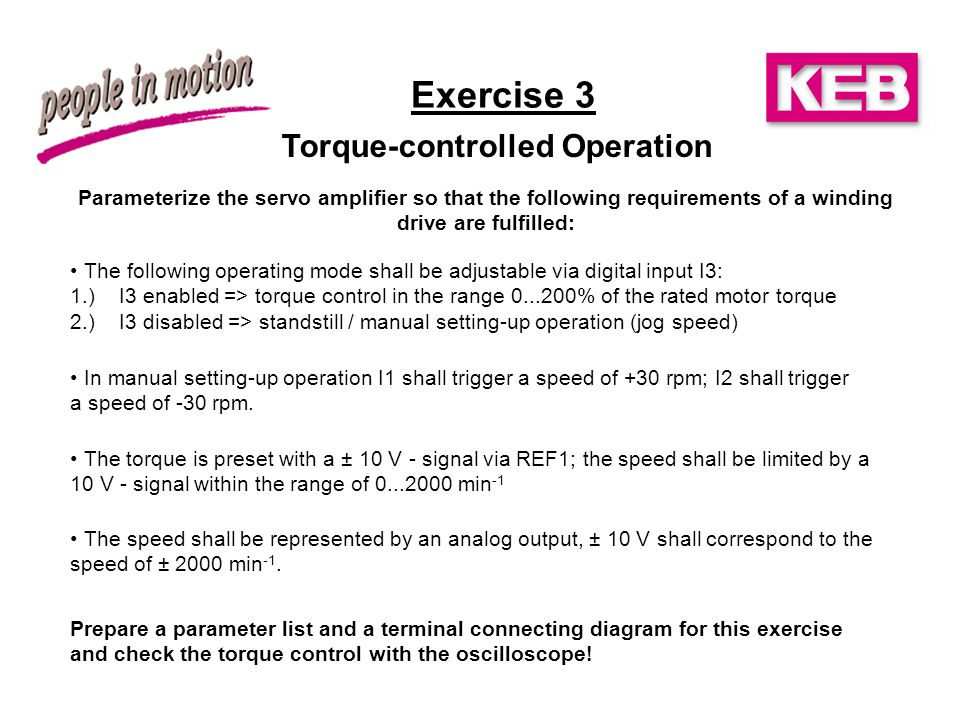 Torque-controlled Operation