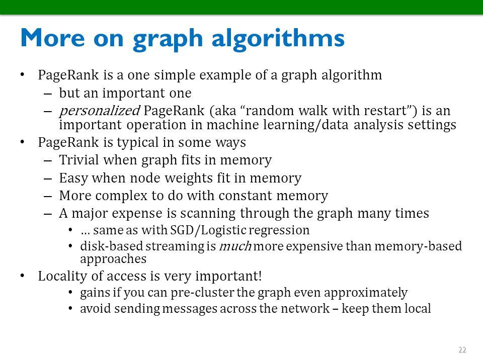 More on graph algorithms
