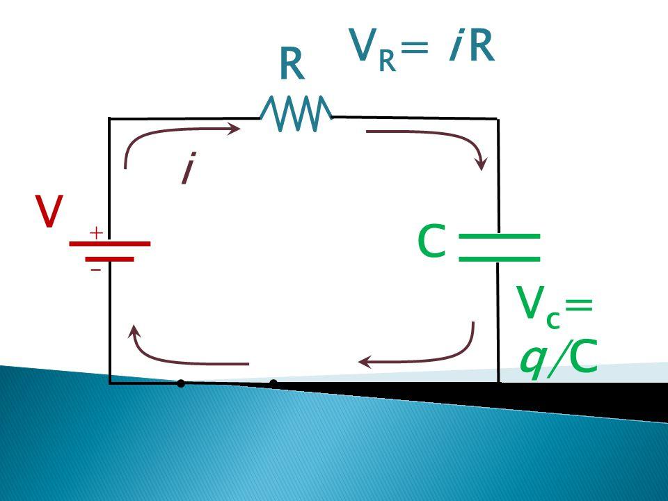 VR= i R R i V + C - Vc= q/C