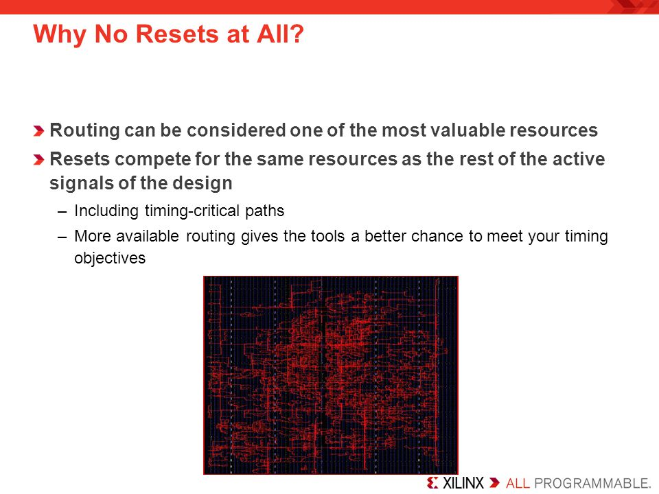 Why No Resets at All Routing can be considered one of the most valuable resources.