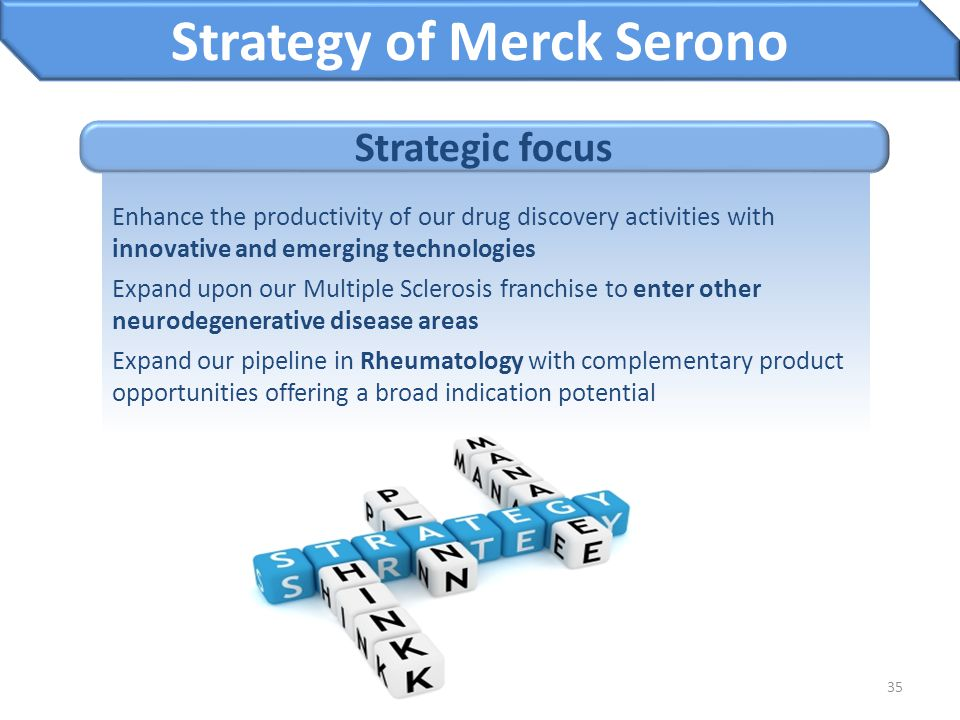 Strategy of Merck Serono