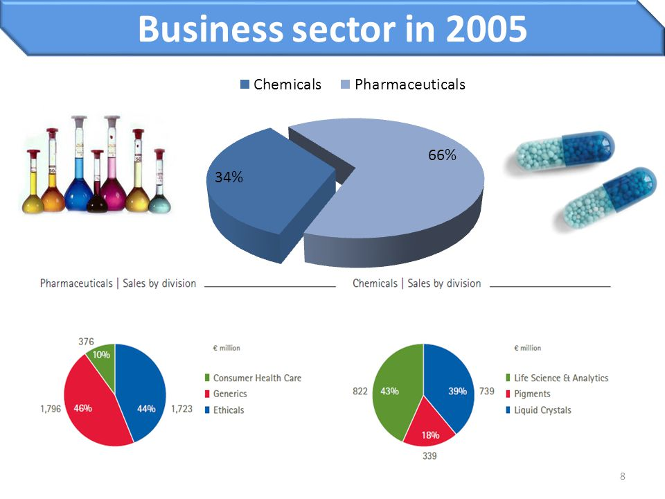 Business sector in 2005