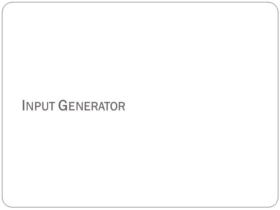Input Generator