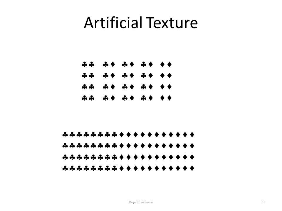 Artificial Texture      
