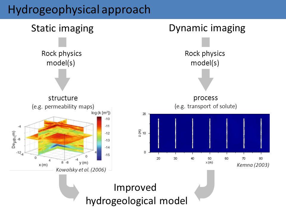Hydrogeophysical approach