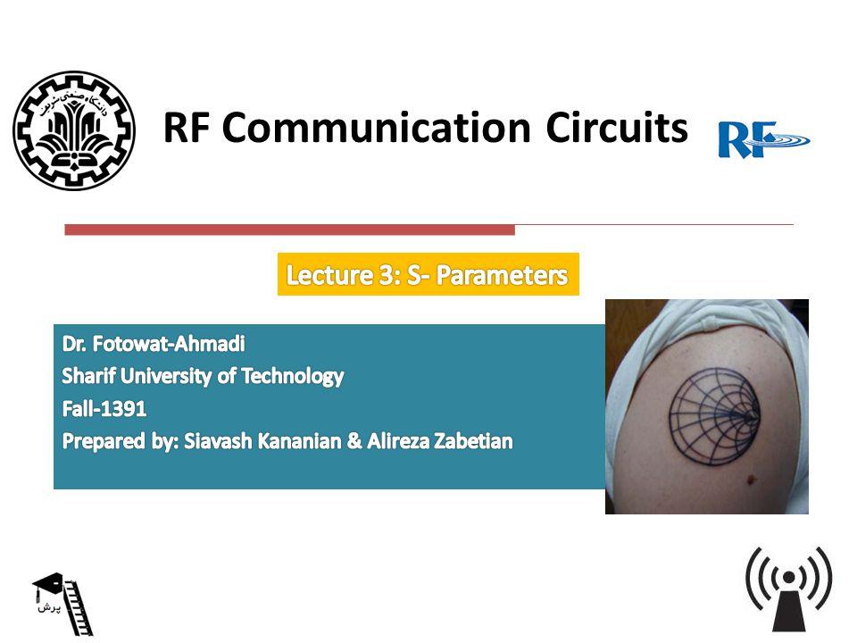 RF Communication Circuits