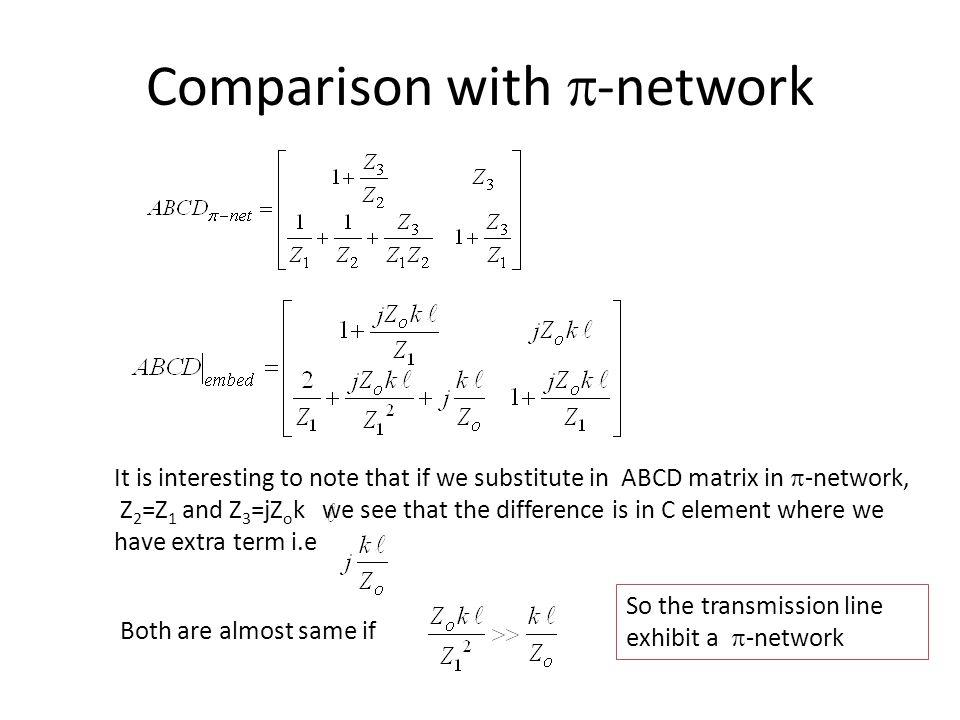 Comparison with p-network