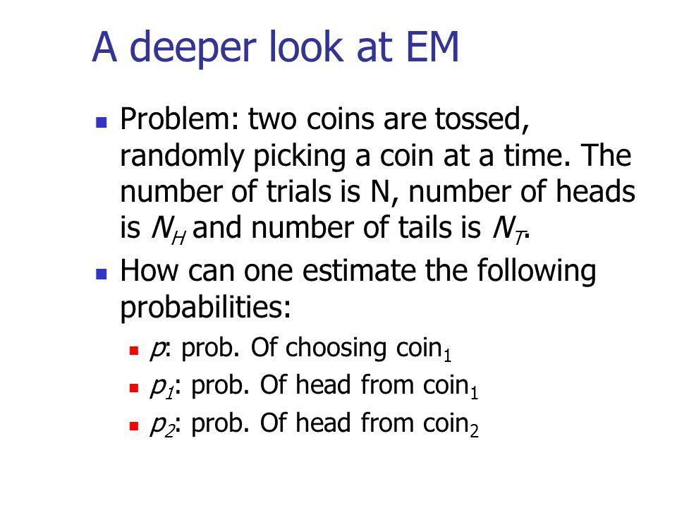 A deeper look at EM
