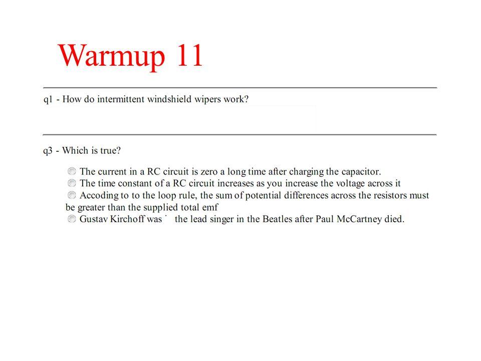 Warmup 11