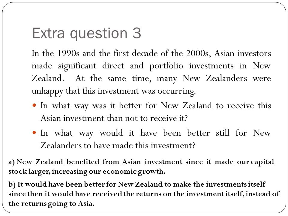 Extra question 3