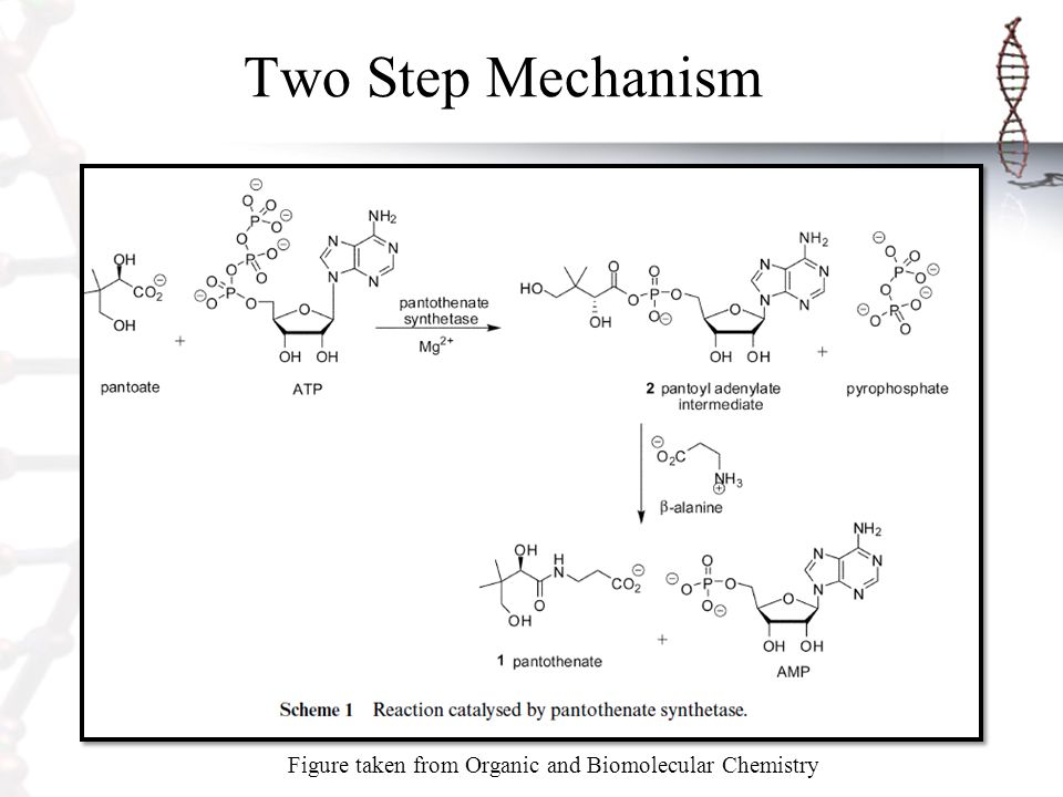 Figure taken from Organic and Biomolecular Chemistry