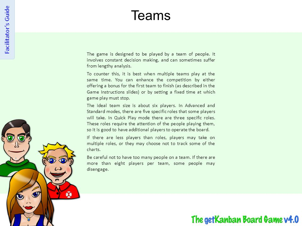 Teams Facilitator's Guide