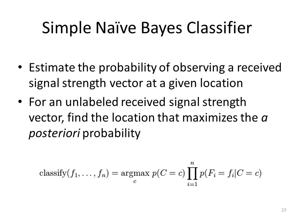 Naïve Bayes – Difference