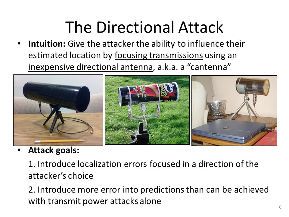 The Directional Attack