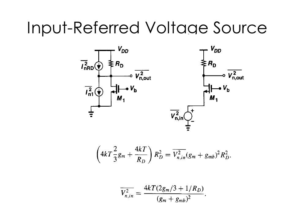 Input-Referred Voltage Source