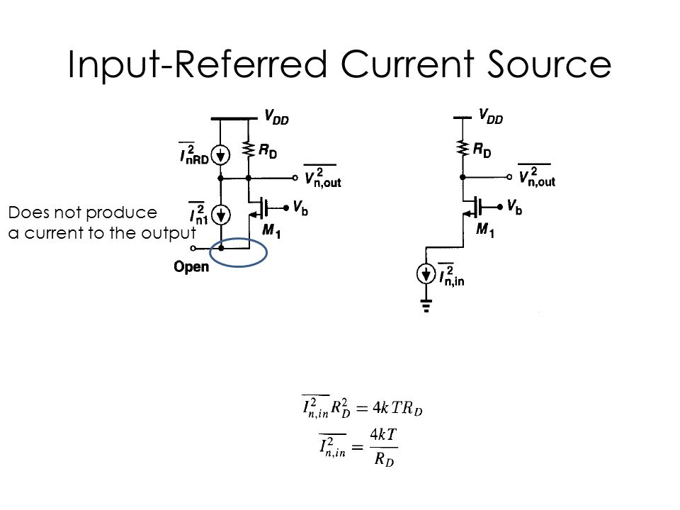 Input-Referred Current Source