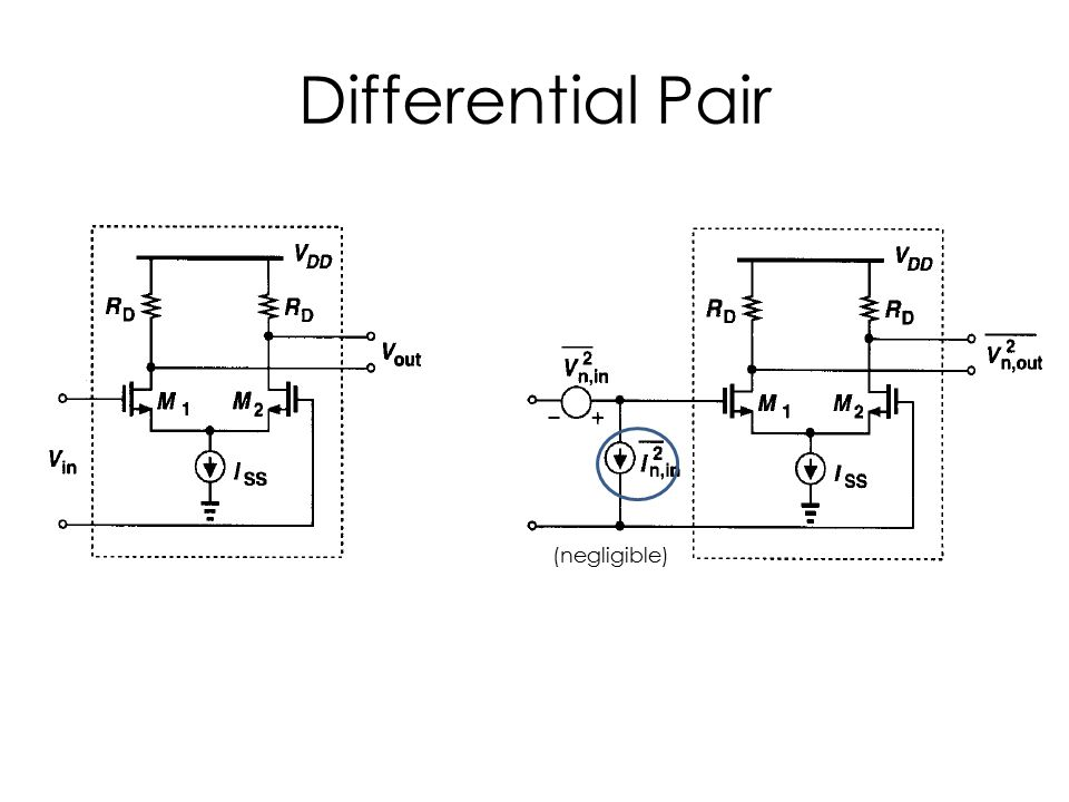 Differential Pair (negligible)