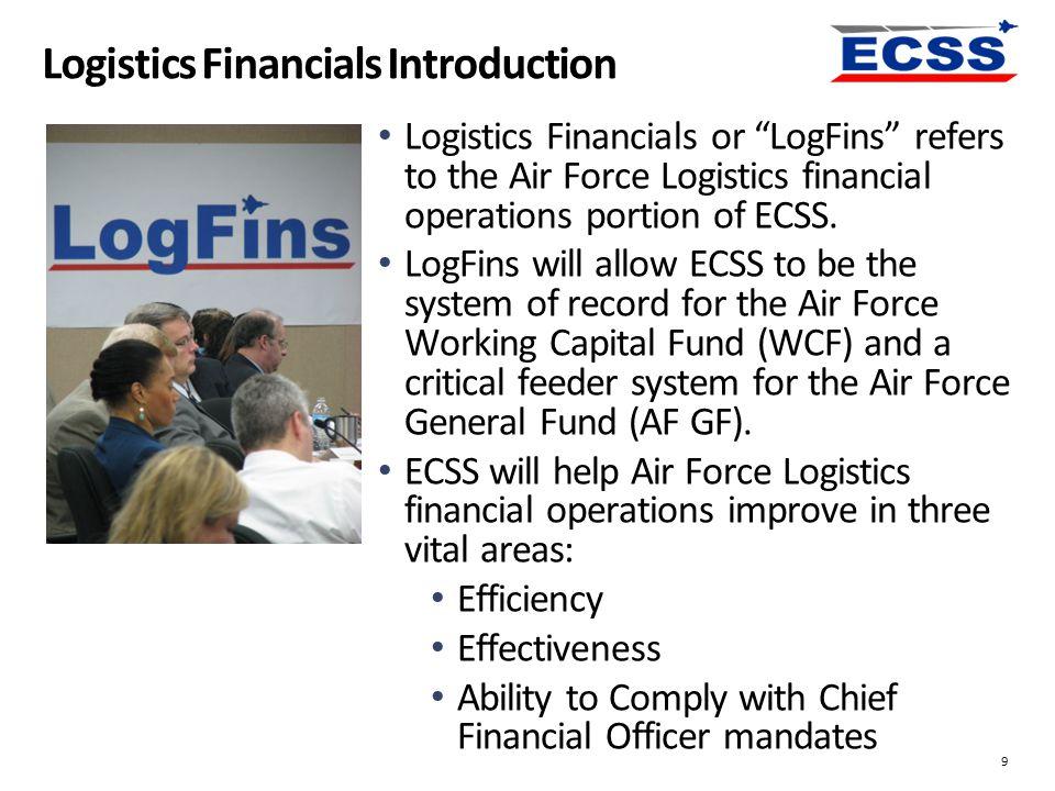 Logistics Financials Introduction