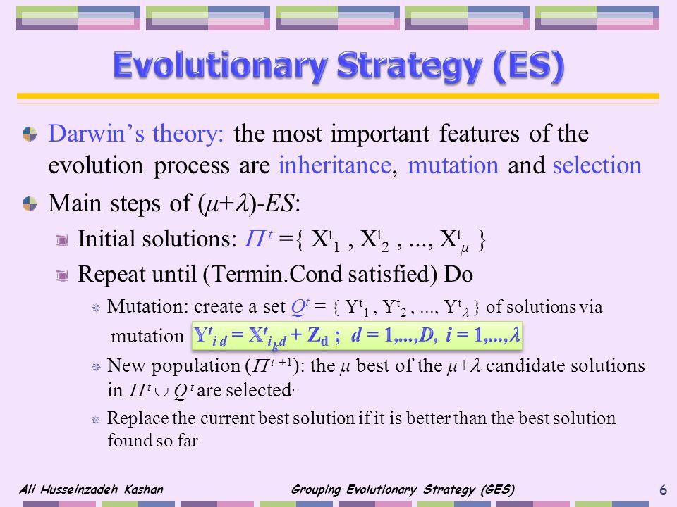 Evolutionary Strategy (ES)