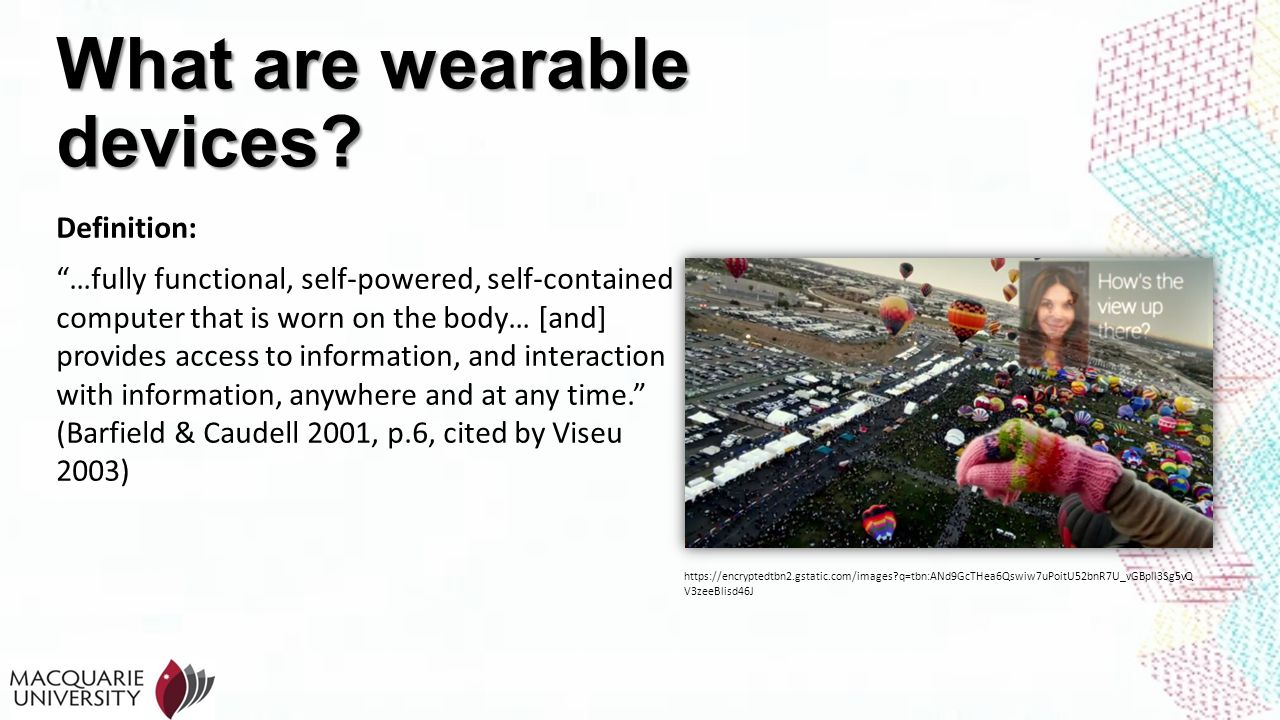 What are wearable devices