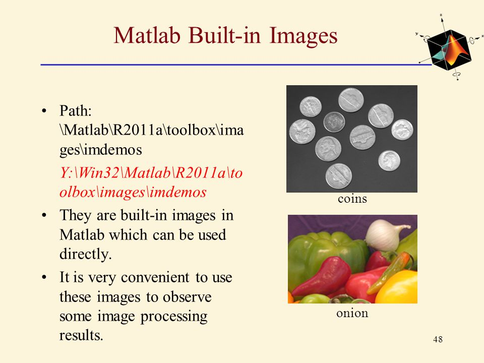 Matlab Built-in Images