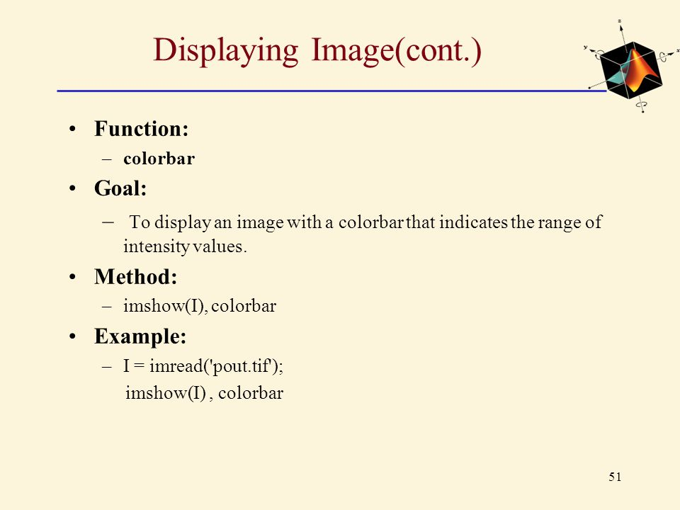 Displaying Image(cont.)