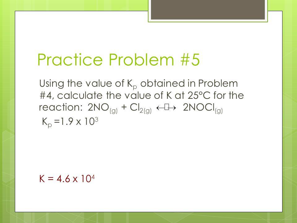 Practice Problem #5