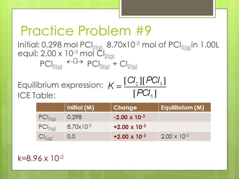 Practice Problem #9