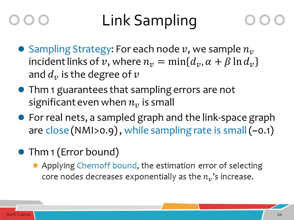 Link Sampling