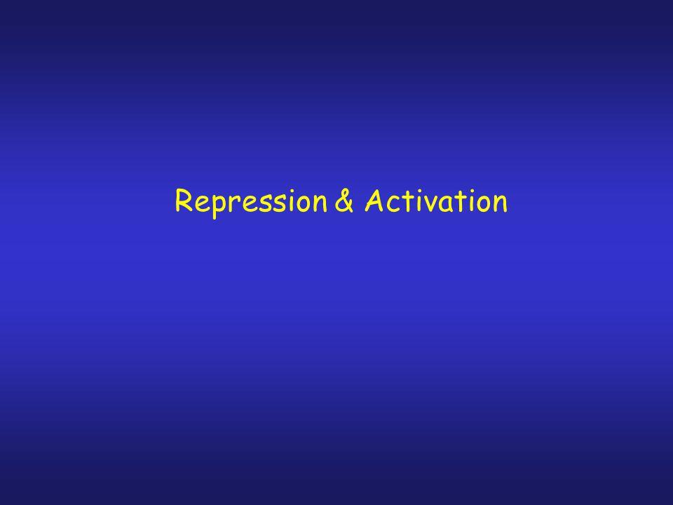 Repression & Activation