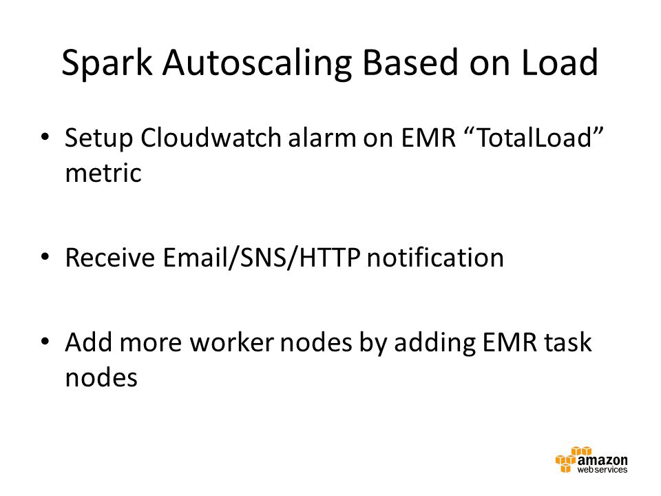 Spark Autoscaling Based on Load