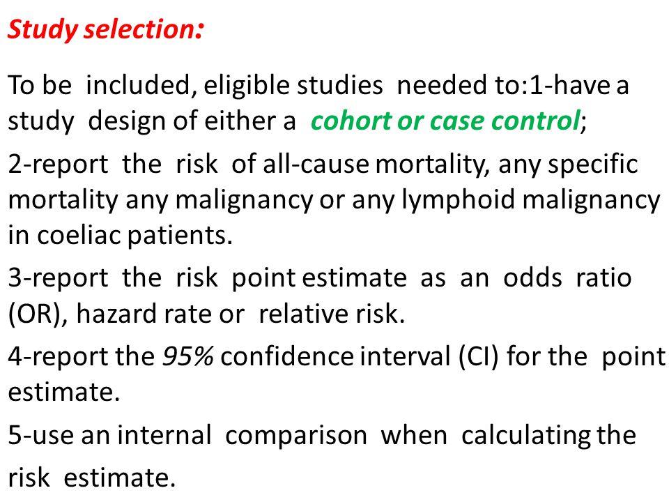:Study selection